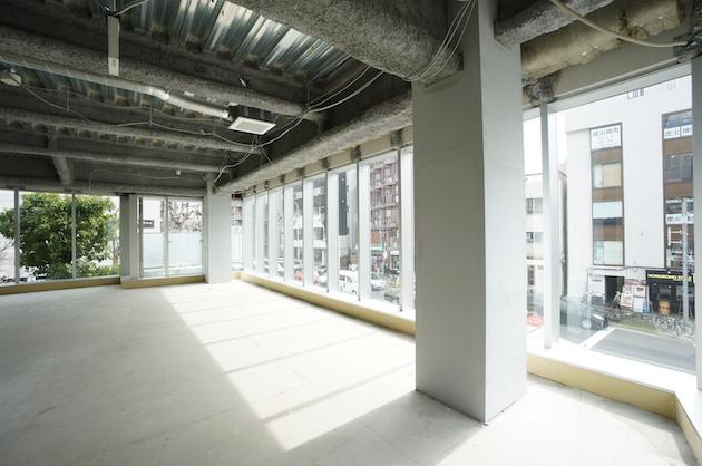 【募集終了】キラー通り沿い新築ビル、天高のあるスケルトン区画