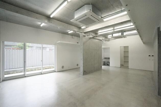 【募集終了】羽根木。コンクリート打ち放し、新築オフィス。