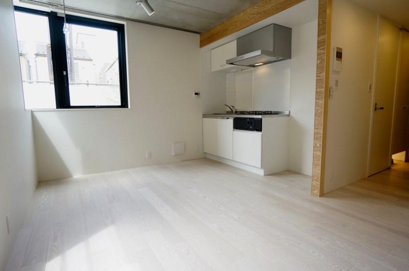 【募集終了】恵比寿、広めの空間が魅力的なメゾネット新築SOHO。