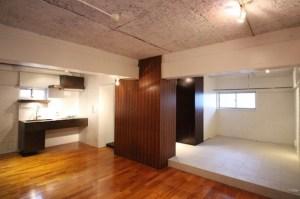 恵比寿、築古物件の模範的リノベーションSOHO<p>[渋谷区/19万円/42㎡]