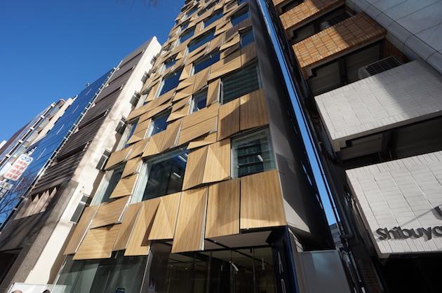 渋谷道玄坂。巨匠が手掛けた現代的なミドルサイズオフィス。