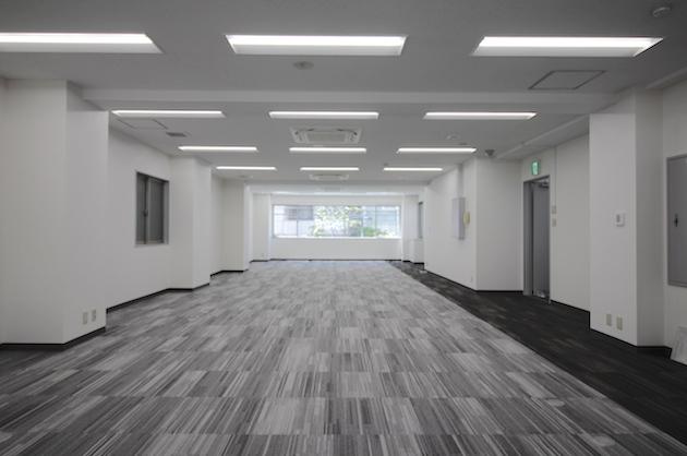 【募集終了】赤坂エリア。リニューアル済み30坪、ワンフロアオフィス