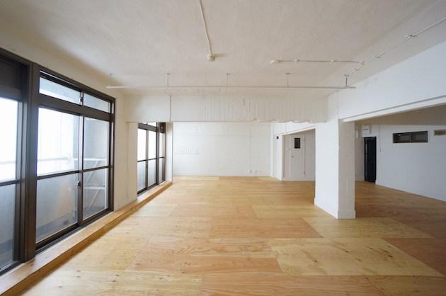 渋谷、敢えて古さを隠さないリノベーションオフィス