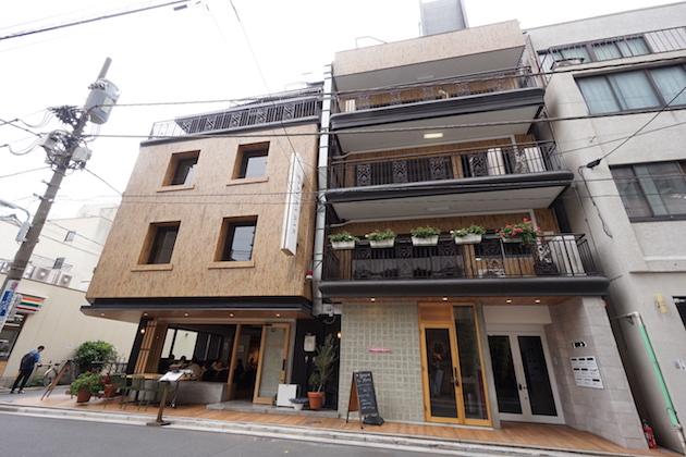 浅草橋2分、リニューアルされたビンテージオフィス