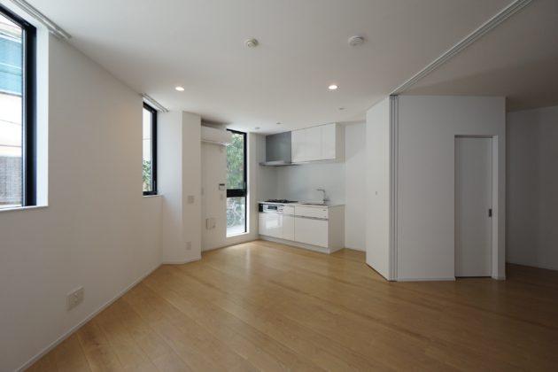 清澄白河。無垢床広がるカジュアルな新築SOHO。