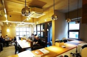 銀座、元旅館をリノベーションした複合オフィスのブースタイプ