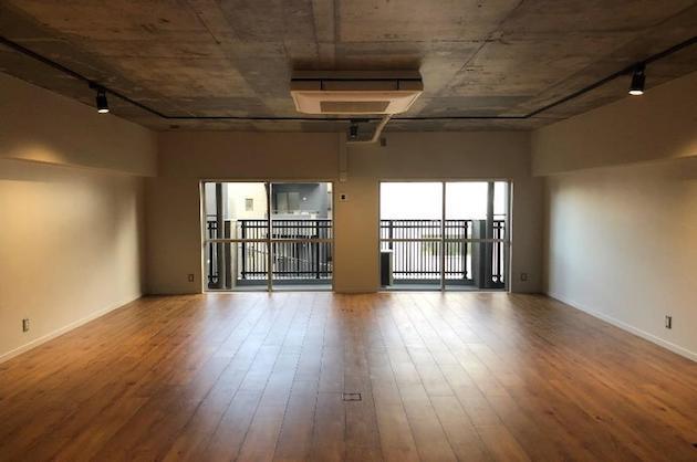渋谷5分、無垢床コンクリートのこだわりオフィス<p>[渋谷区/61万/61㎡]