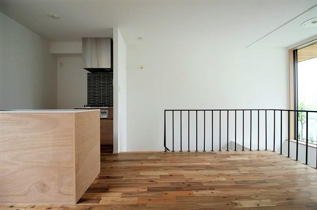 【募集終了】牛込柳町新築。大きな窓が包む二層の空間。