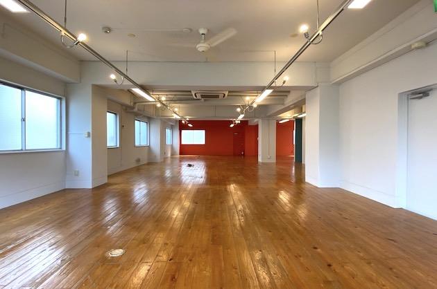 【募集終了】五反田、無垢材床のリノベーションオフィス