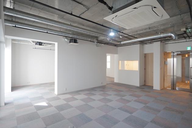 池尻・中目黒。スケルトン天井の新築オフィス。<p>[目黒区/41万/78㎡]