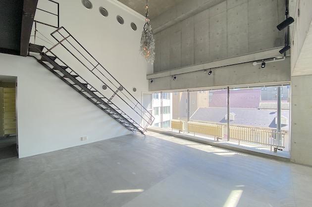 【募集終了】恵比寿。天高5mの空間有すクリエイティブオフィス