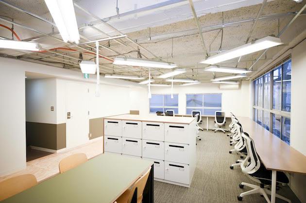 新宿、イベントスペースも使用可能な家具付きリノベオフィス<p>[新宿区/55万/66㎡]