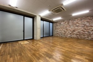 渋谷、ユニークなデザイン光るワンフロアオフィス<P>[渋谷区/43万/96㎡]