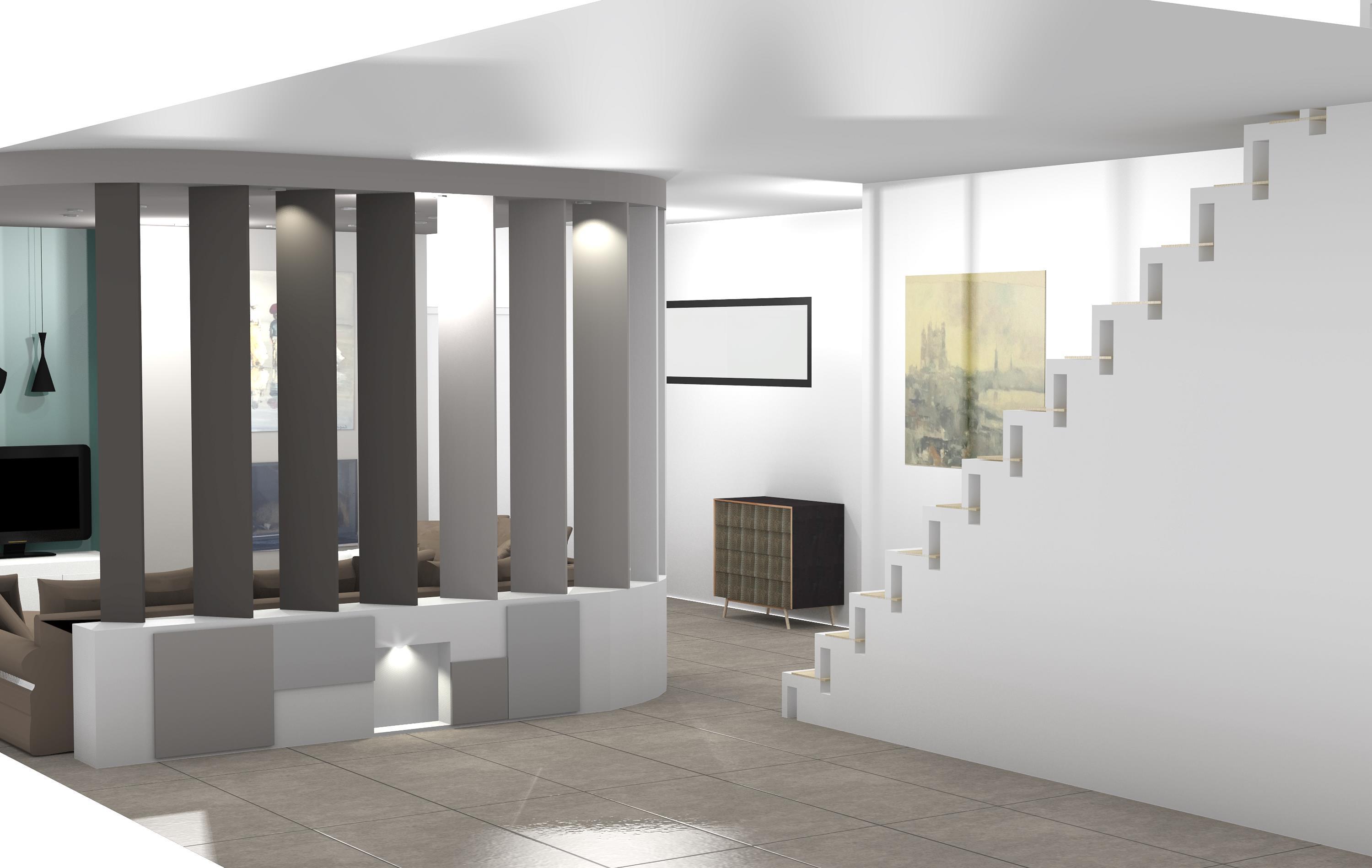 Decoration Interieur Entree Facade Meuble Cuisine U