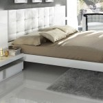 Granada Wood Tufted Bed W Lights Queen Size By Fenicia Mobiliario Spain Sohomod Com