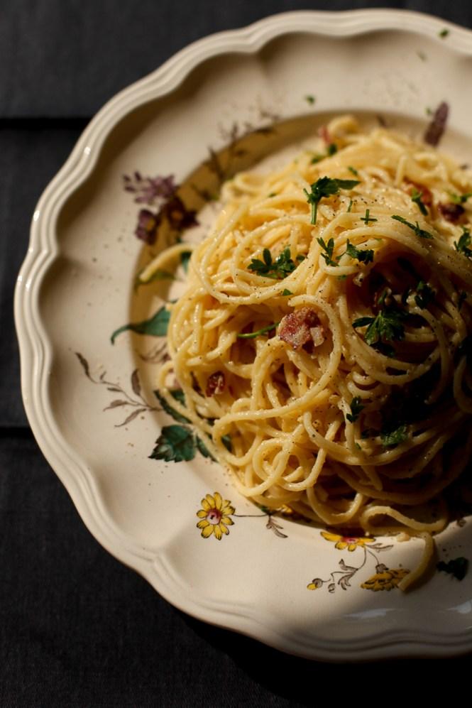 špagete Karbonara Spaghetti Carbonara So I Biber Blog