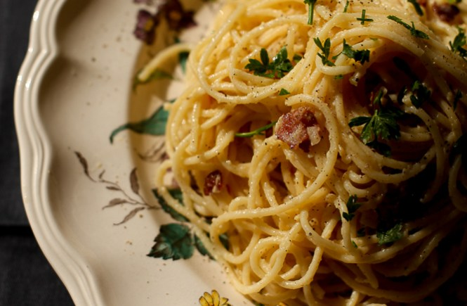Špagete karbonara