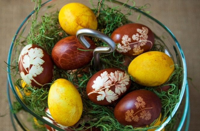 Prirodna dekoracija jaja