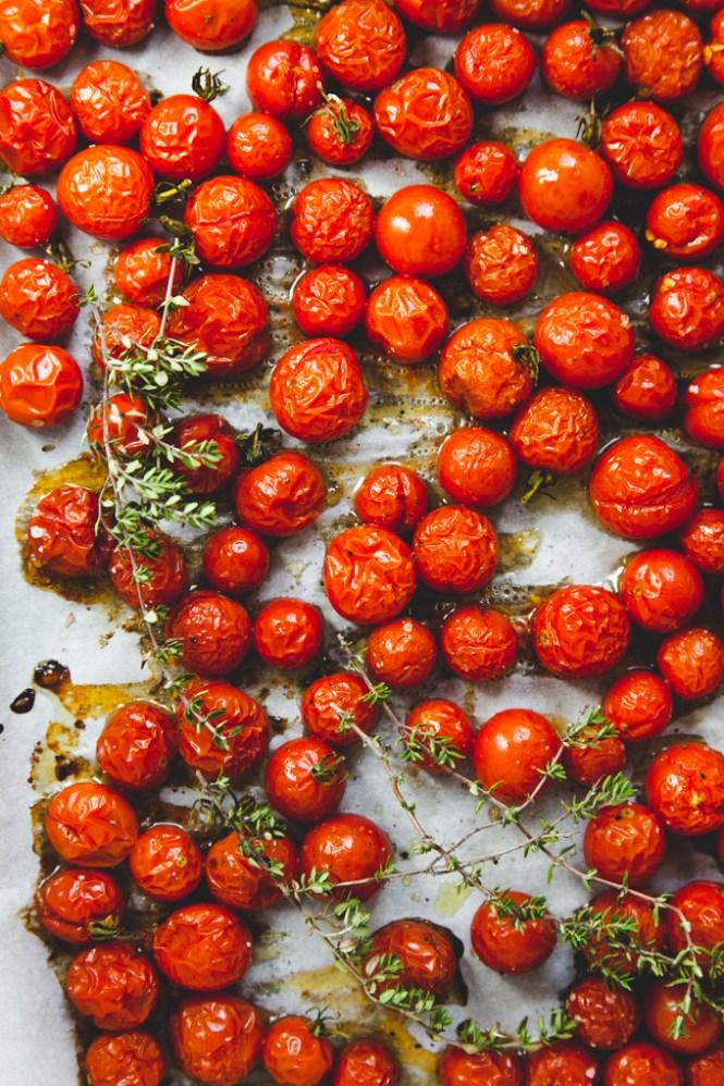 Čeri paradajz pečen u rerni