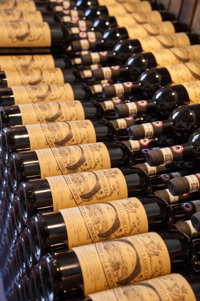Kjanti vino