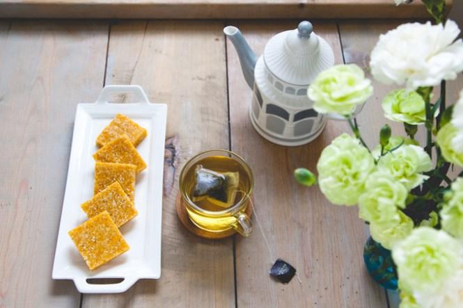 Zdrav slatkiš sa mangom i kokosom