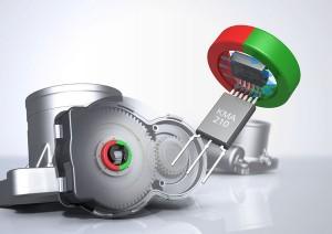 NXP's KMA210 magneto-resistive sensor