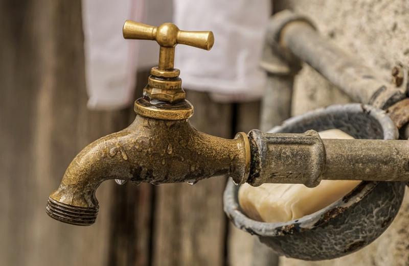 installation de l'eau courante