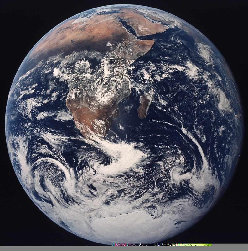 Earth, by NASA