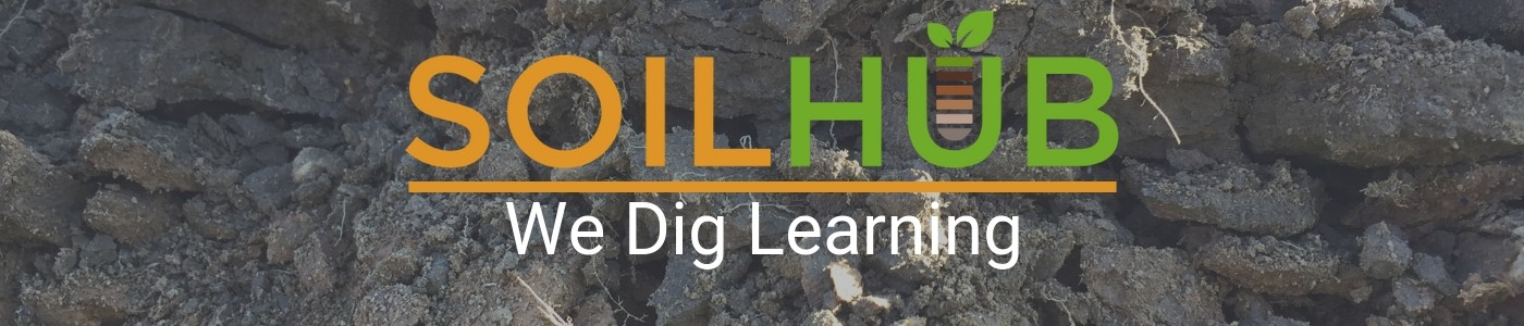 Soil Hub We Dig Learning Banner