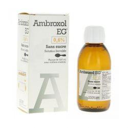 Ambroxol Eg Labo 06 الكبار السعال الجاف 150ml