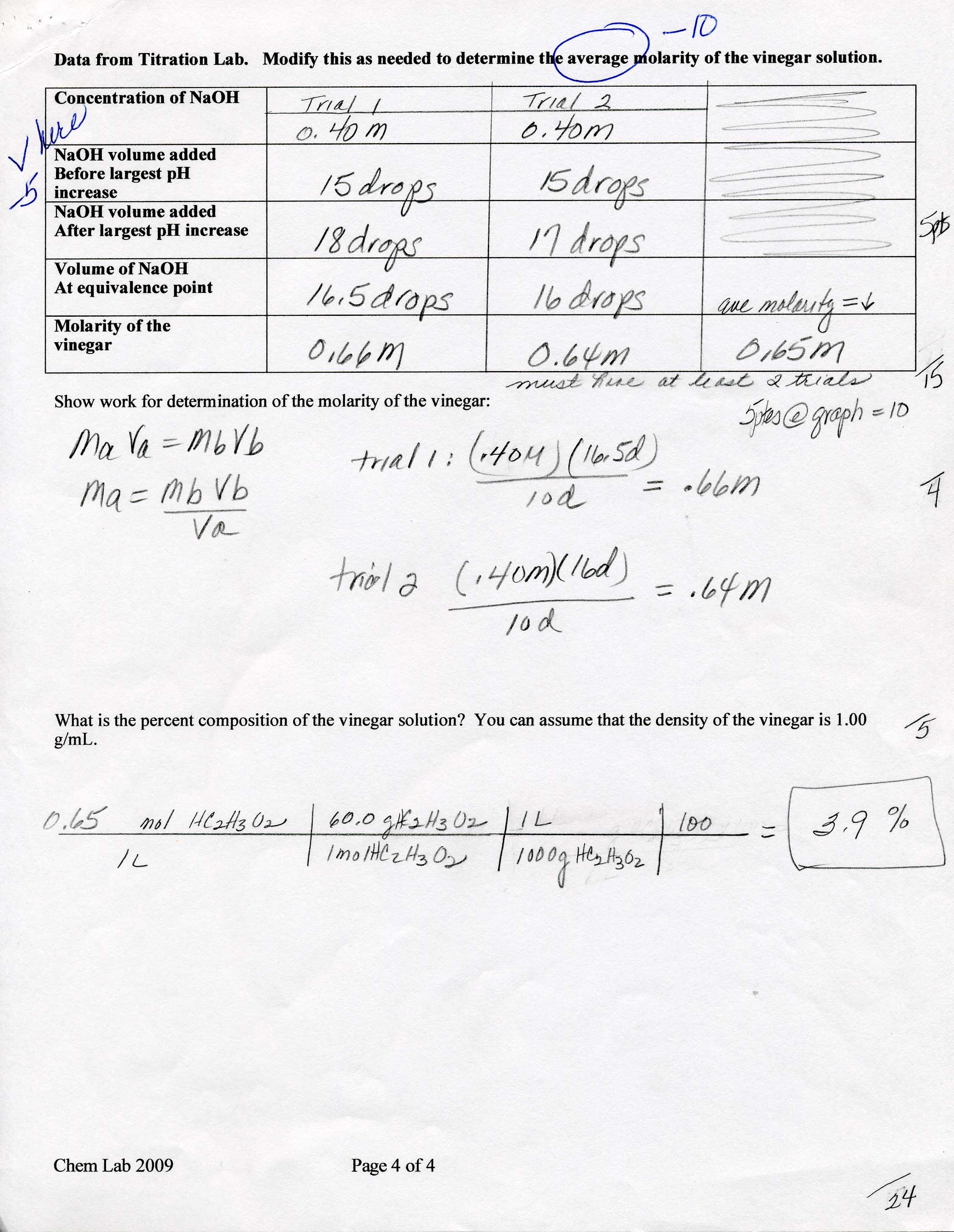 Electrochemistry Worksheet Doc