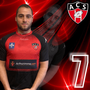 HAYER ANTOINE AC SOISSONS RUGBY