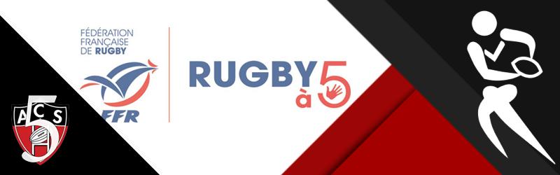Nouveau à l'ACS : Le Rugby à 5 ( sans contact )