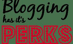 perks of blogging, soivebeenthinking.com