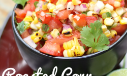 Roasted Corn & Jalapeño Salsa