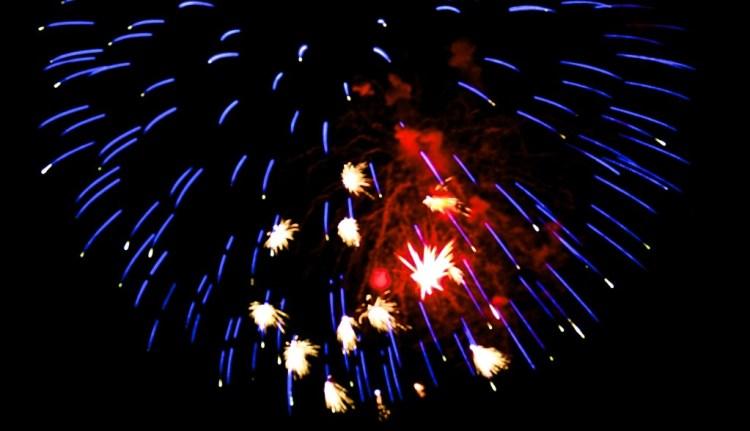 edited fireworks photo #2