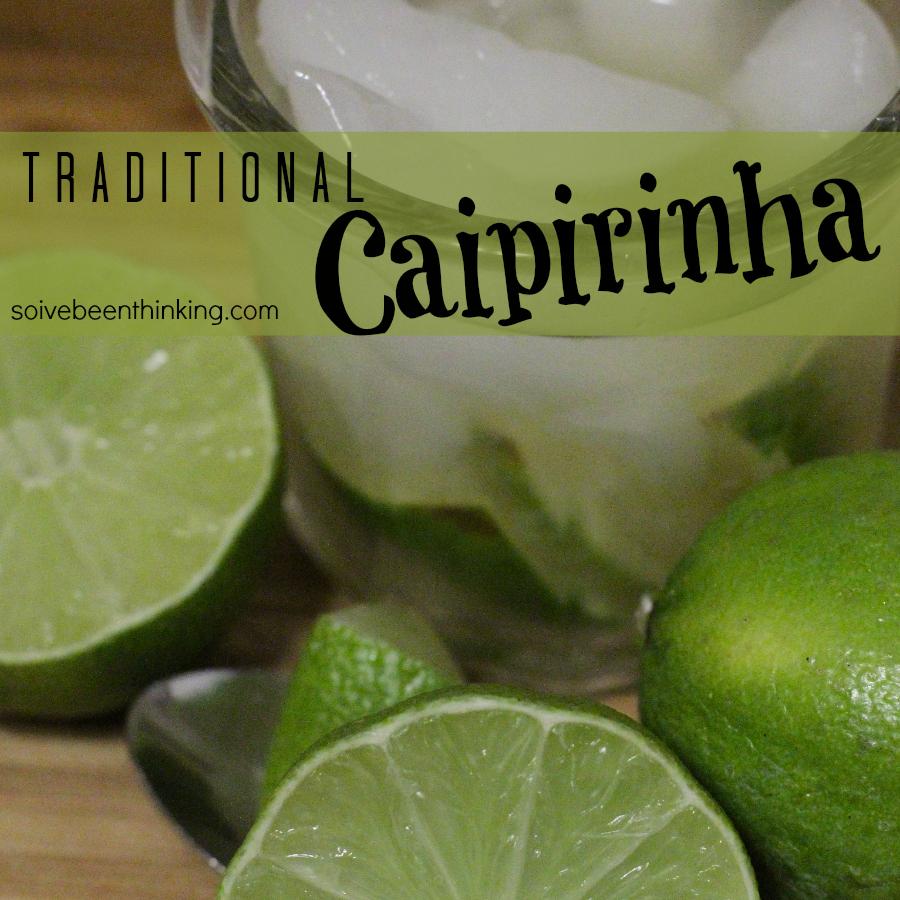 traditional caipirinha