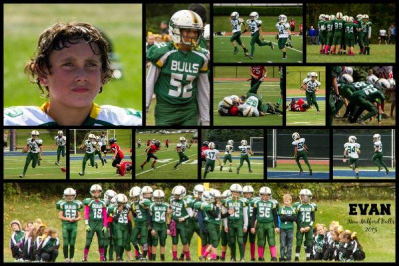 soivebeenthinking.com Steph Rufa Photography custom football sports posters
