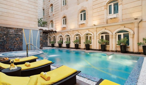 The swimming pool (Image credit: hotel website)
