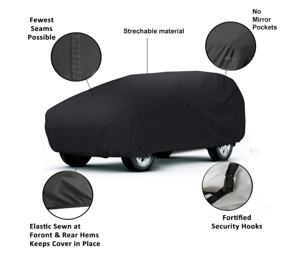 satin stretch indoor car cover