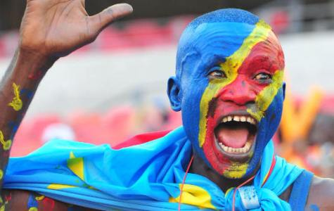DR Congo fan during the 2013 Orange Africa Cup of Nations football match, Ghana Vs DR Congo at the Nelson Mandela Bay Stadium in Port Elizabeth, South Africa on January 20, 2013. Photo by Sports Inc/PA Photos/ABACAPRESS.COM