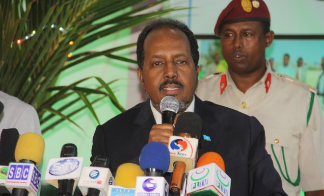 SOMALIA PRESIDENT: Inter-state football competition was a sign of