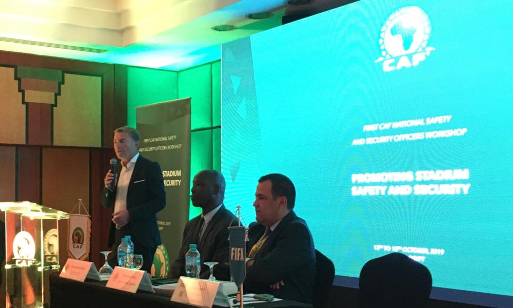 CAF holds first ever Security Workshop supported by FIFA