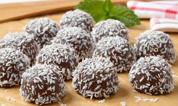 Σοκολατίνια με καρύδα από το chefoulis.gr !