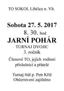 Jarní pohár tenisového oddílu @ tenisové kurty - areál Sokola | Libčice nad Vltavou | Česko