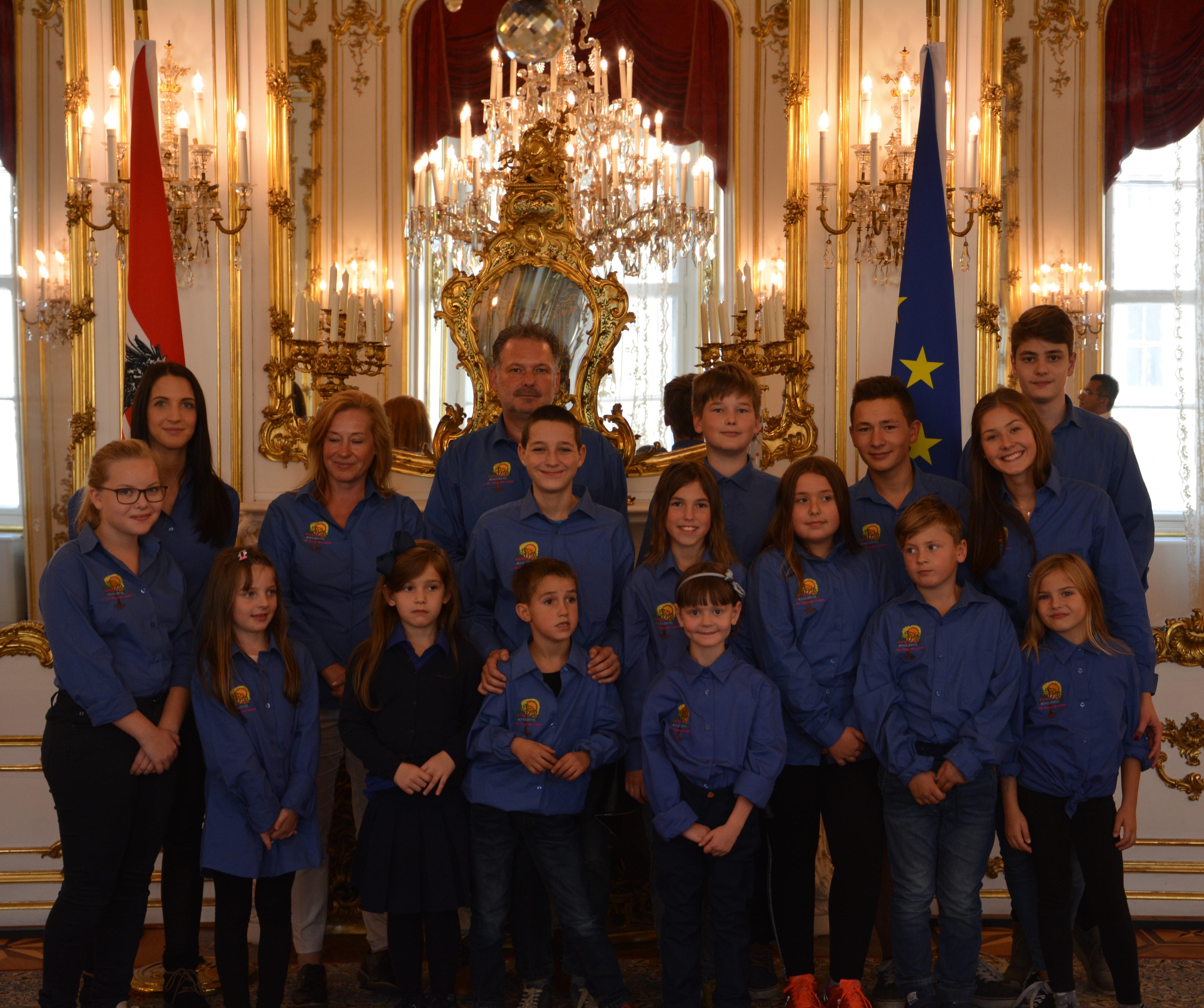 Auftritt in der Hofburg