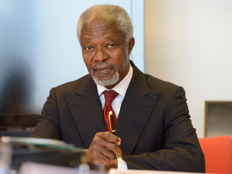 Gov't sets up 9-member committee to organise Kofi Annan's funeral