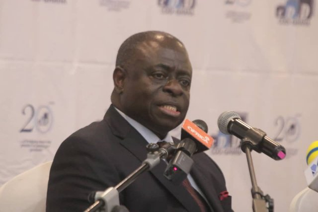 Prof E Gyimah-Boadi