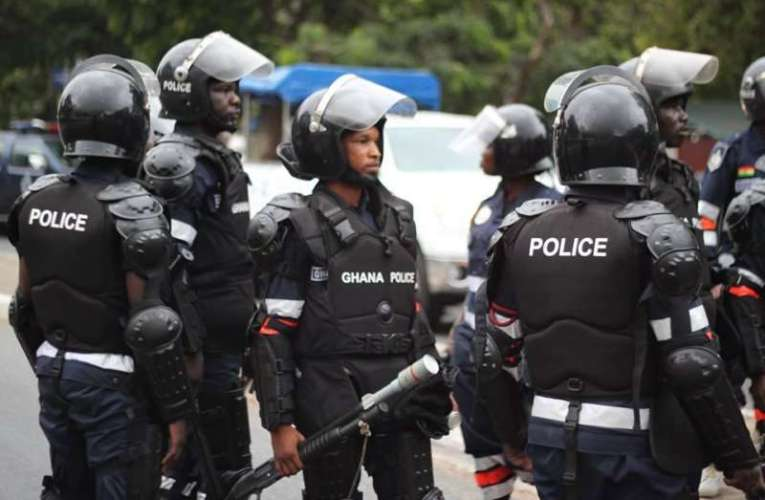 Police arrest 4 for scuffle at NPP office at Effiduase