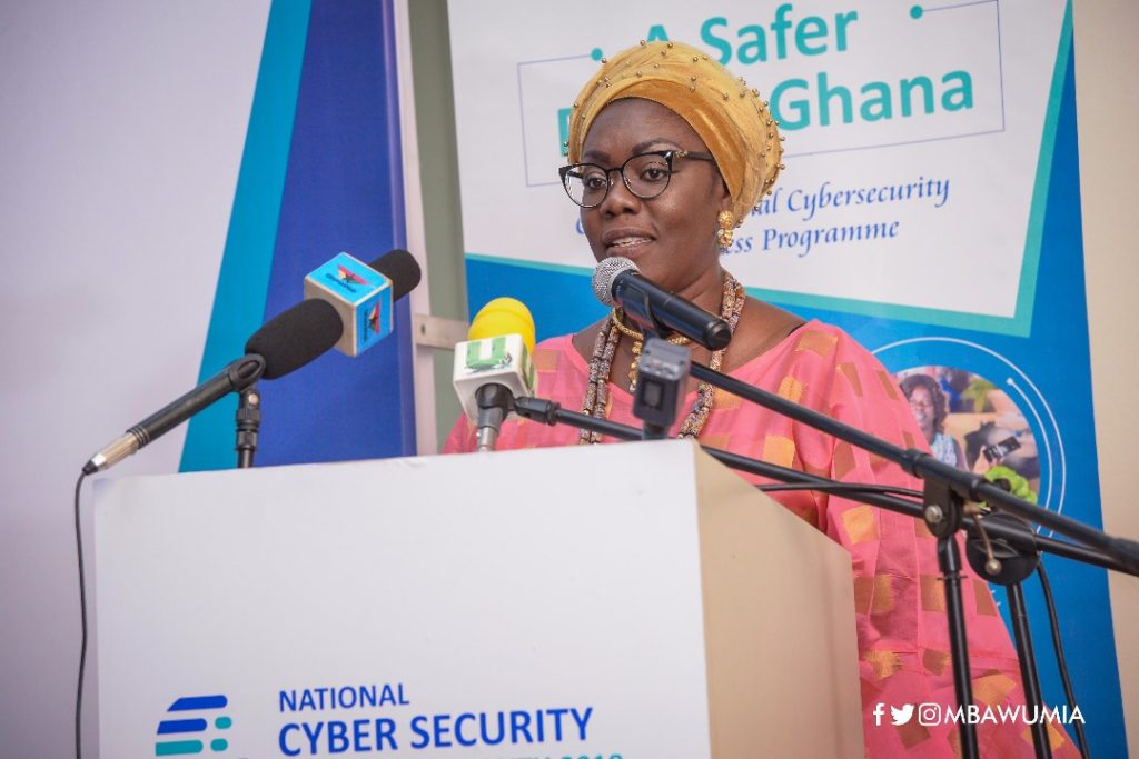 BE CAUTIOUS ON THINGS YOU SEND WHEN USING THE INTERNET – URSULA OWUSU